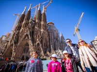 Kids tour at Sagrada Familia